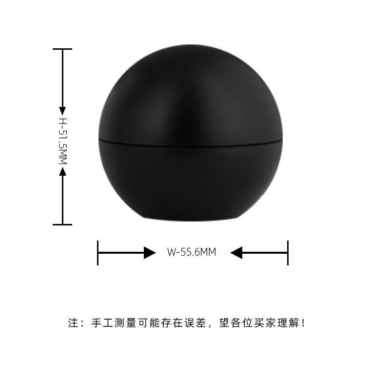 球形旋盖散粉盒 产品参数