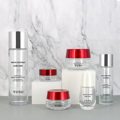 S-BAX06 透明化妆品套装瓶