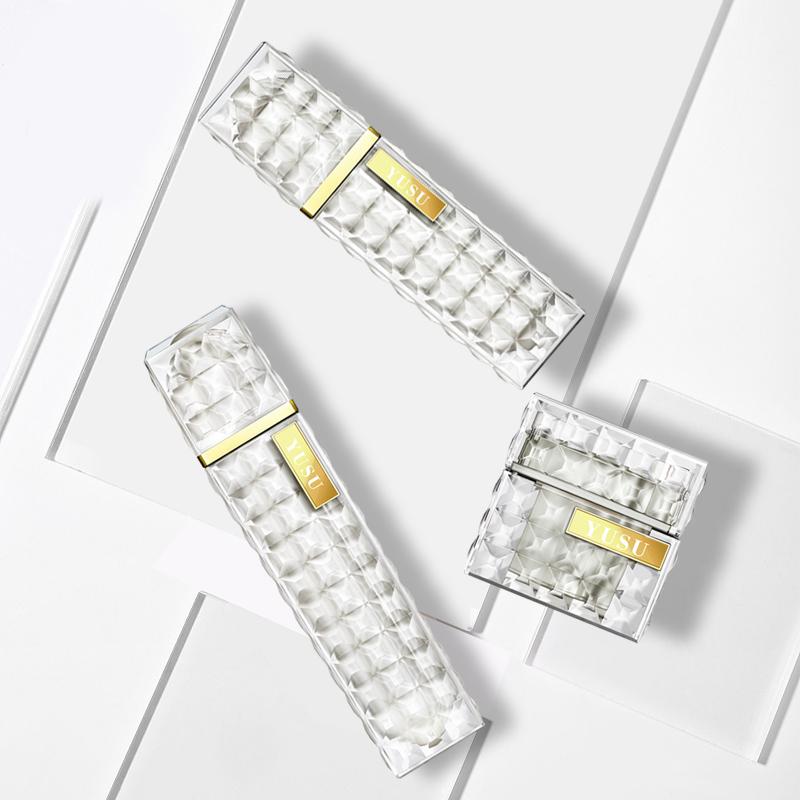 钻石外观设计护肤套装瓶