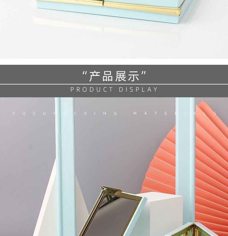 镜子三色粉盒产品展示