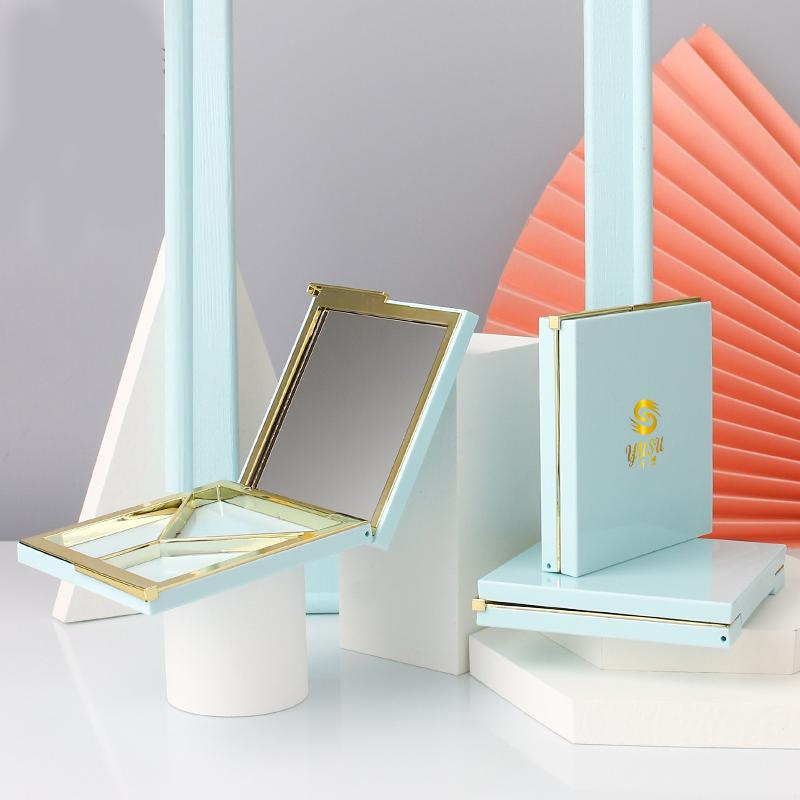 带镜子三色粉盒 DPHZ002