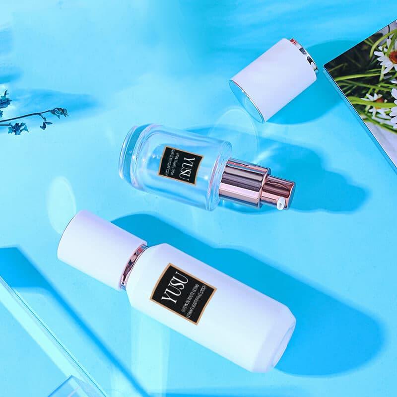 EE02 透明玻璃粉底液瓶