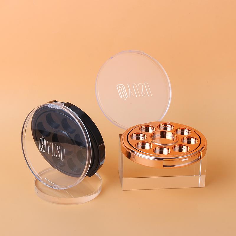BAHZ001 九色转盘眼影盒
