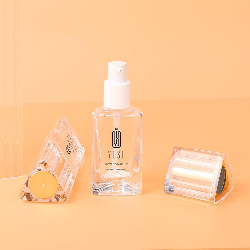 A-CW07 三角玻璃粉底液瓶